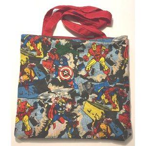 Marvel comics avengers tote bag